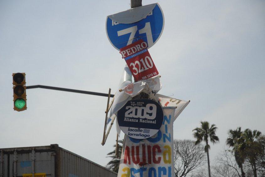 Frente Amplio quiere prohibir publicidad electoral en la televisión y en las calles