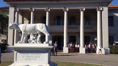 """Padres de la Scuola Italiana en Uruguay """"preocupados"""" por detención de capo narco en el patio"""
