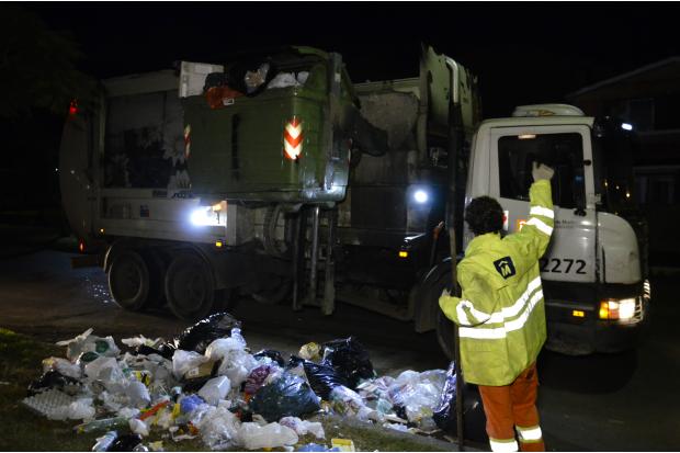 Informe sobre la jornada especial de limpieza en Montevideo este domingo