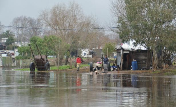 El norte de Uruguay pasará la madrugada bajo alerta amarilla
