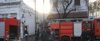 Taxista que rescató a varios ancianos vio una estufa prendida fuego