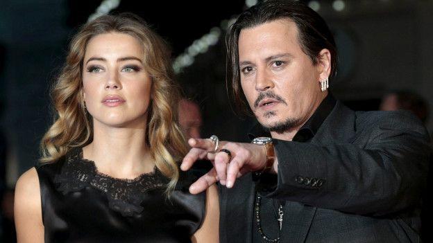 Dictan orden de restricción a Johnny Depp después de ser acusado de violencia doméstica