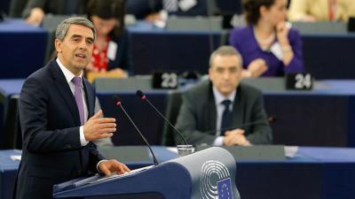 """""""El colapso de la UE conducirá a una guerra"""", afirmó el presidente de Bulgaria"""