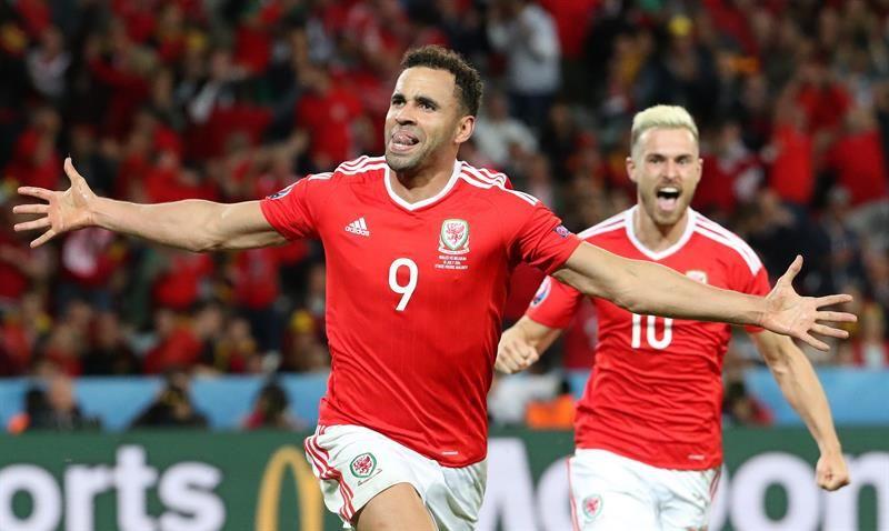 Gales da la sorpresa y se clasifica para semifinales tras derrotar a Bélgica 3 a 1