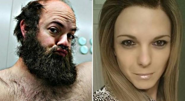 Marine de 108 kilos vivía en el cuerpo equivocado y hoy es una atractiva mujer