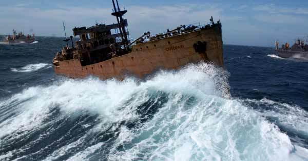 """Triángulo de las Bermudas, el barco """"vagabundo que reapareció 90 años después"""
