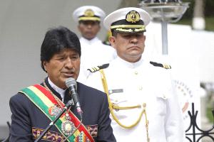 """Evo Morales afirma que el Ejército chileno está """"sometido"""" a EEUU"""
