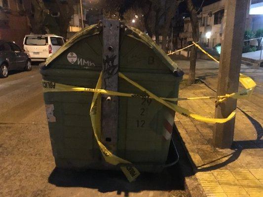 Un hurgador encontró una bebé recién nacida en un contenedor de basura en Pocitos