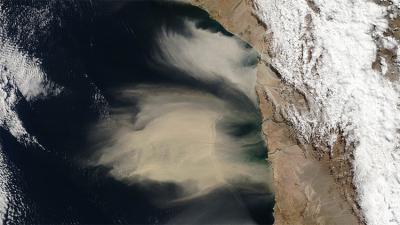 Esta foto del norte de Chile inquieta a la NASA