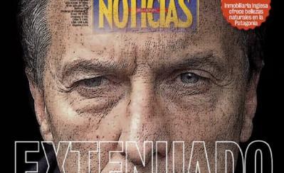 La impactante tapa de Noticias sobre el estado físico de Macri