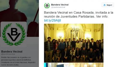 Insólita participación de partido neonazi en reunión en Casa Rosada