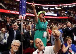 Revuelta en la Convención Republicana contra Trump