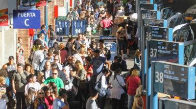 """Tres Cruces """"reventó"""": Más de 60 mil personas pasaron el fin de semana"""