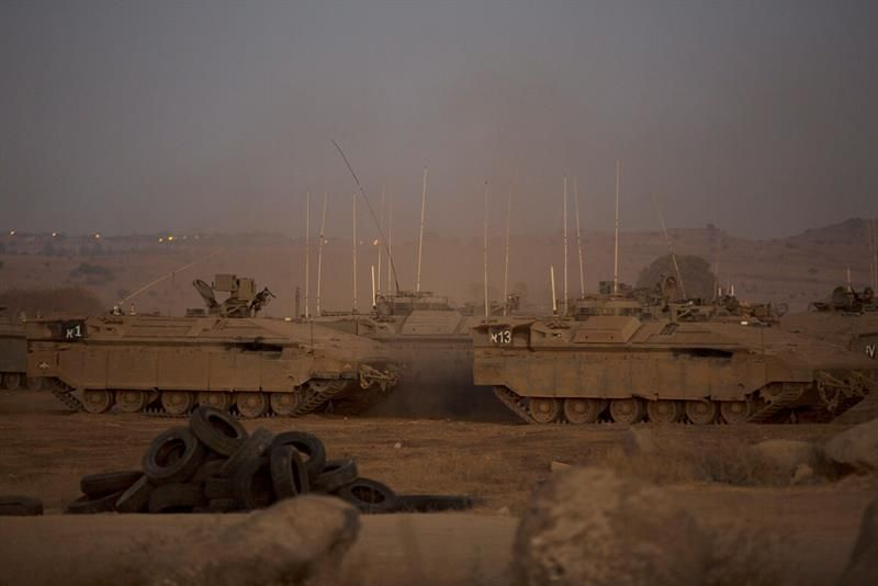 Un avión israelí ataca una localidad siria próxima al Golán ocupado por Israel