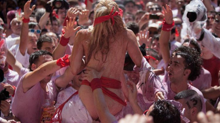 Los detalles de la violación en Pamplona en la que participó un policía