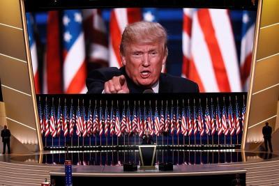 """""""Black Lives Matter"""" ve discurso de Trump como el más negativo de la historia"""