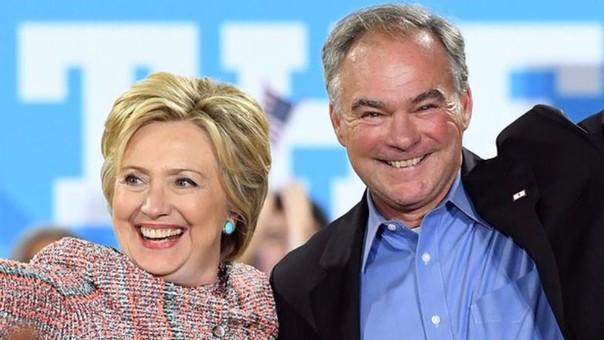 Hillary Clinton eligió a un hispanohablante como su vicepresidente