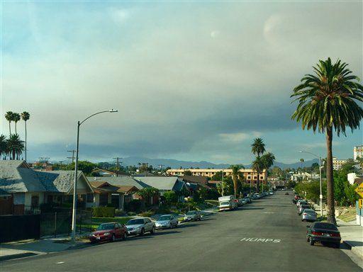 Cientos de viviendas evacuadas en California por incendios