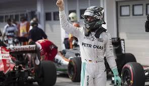 Rosberg saldrá desde la 'pole' en Hungría
