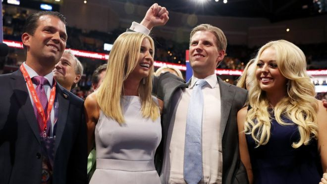 ¿La nueva dinastía política de EE.UU.? Así es la familia de Donald Trump