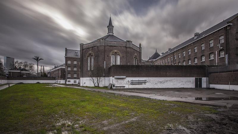"""La """"segunda vida"""" de una prisión holandesa con pisos de diseño"""