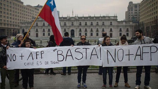 Chile, la cuna de los fondos privados de pensiones, se rebela al perverso invento que se extendió por toda América Latina