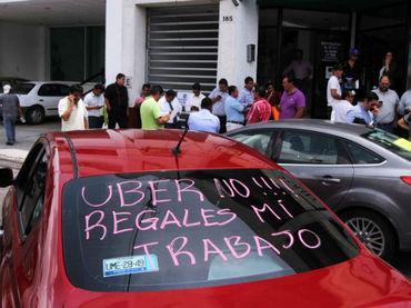 Choferes de Uber alistan movilización en la Ciudad de México