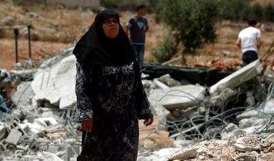Israel derriba doce viviendas en Cisjordania, según fuentes palestinas