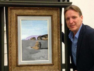 Hallan un Dalí robado hace siete años en museo de Holanda