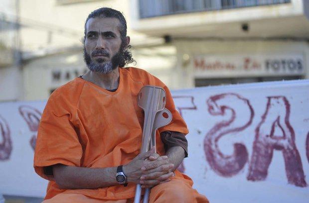 Ex Guantánamo Jihad Diyab apareció en consulado uruguayo de Venezuela