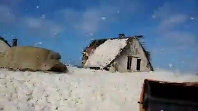 """Punta del Diablo """"bajo nieve"""""""
