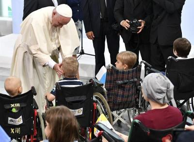 """El Papa se pregunta """"dónde está Dios"""""""