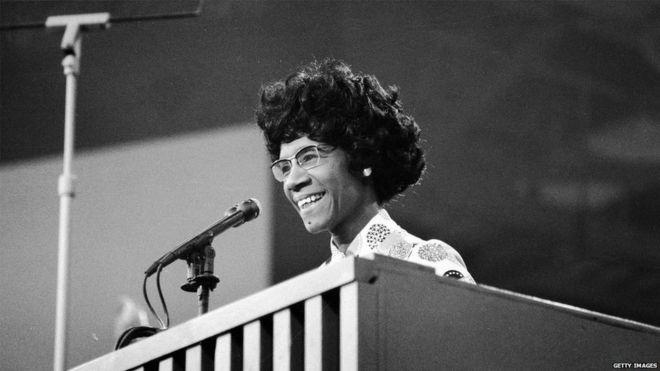 Antes de Hillary Clinton hubo otra precandidata presidencial demócrata y era negra