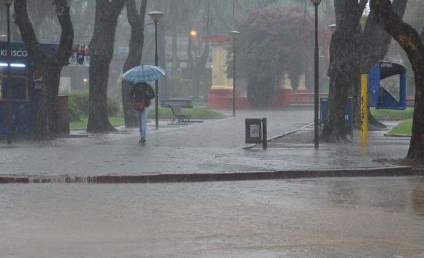 Domingo y lunes con lluvias en Uruguay
