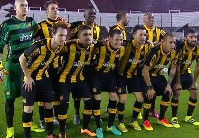 Peñarol derrotó 2-1 a Lanús en Buenos Aires