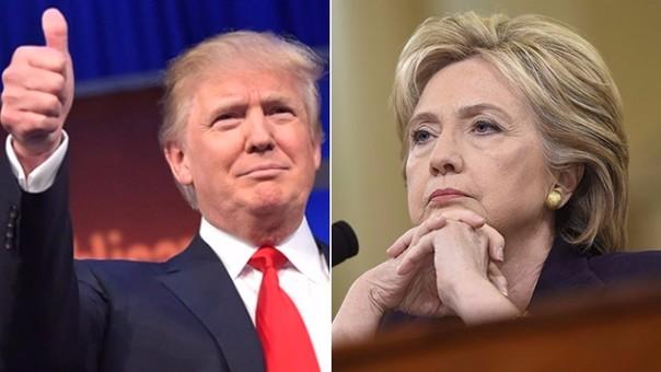 El discurso de Trump ganó al de Clinton en más de un millón de televidentes