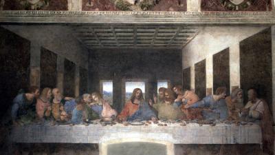 "Revelan ""el verdadero secreto"" escondido por Da Vinci en 'La última cena'"
