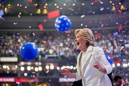 Hillary Clinton a la cabeza en las encuestas