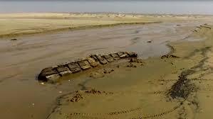 Aparece en Rocha embarcación de 300 años