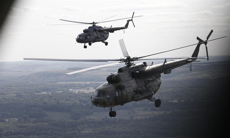 Kremlin da por muertos a los cinco tripulantes del helicóptero derribado en Siria