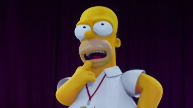 """""""Grandes discursos"""", por """"A. Hitler"""": Los Simpson se burlan de Donald Trump y apoyan a Hillary Clinton"""