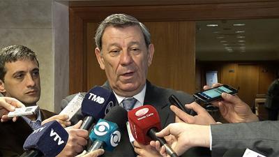 """Nin duro con Brasil y Argentina: """"Uruguay no iba a usurpar la presidencia"""""""