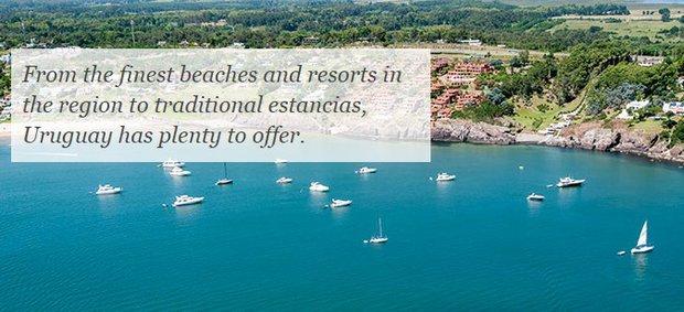 Las 5 razones para visitar a Uruguay de la guía británica Bradt por sus ventajas sobre
