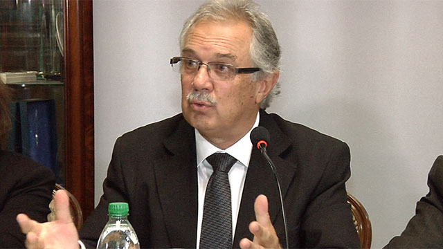 Jorge Menéndez fue designado como nuevo ministro de Defensa Nacional