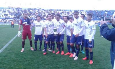 Nacional le ganó 1-0 a Vélez Sársfield en el Parque Central