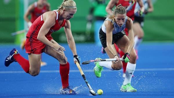 Las Leonas argentinas perdieron con las estadounidenses en el debut olímpico
