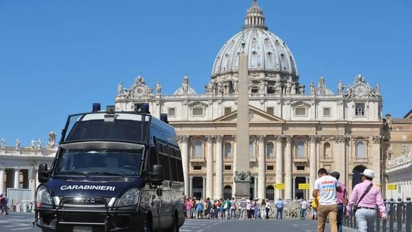 Refuerzan medidas de seguridad en el Vaticano ante posible ataque terrorista