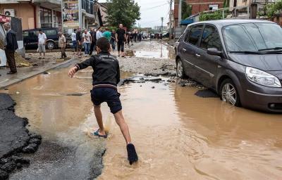 22 muertos por el temporal en Macedonia; se declara luto nacional