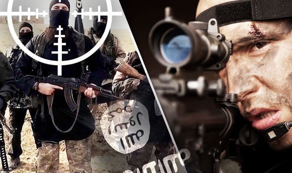 Con bala especial y a 1.200 metros francotirador británico le voló la cabeza a un comandante del ISIS que enseñaba a decapitar
