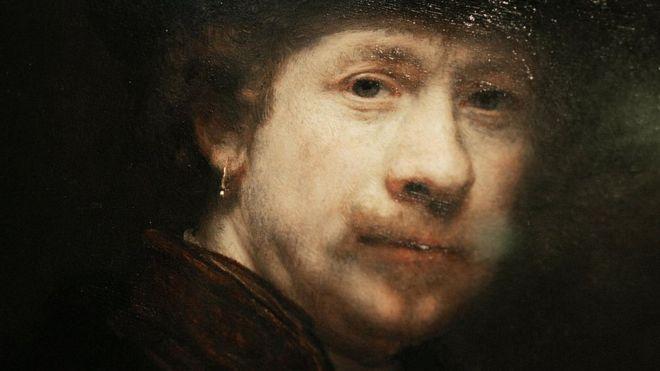 El truco que utilizaba Rembrandt para pintar sus alabados autorretratos